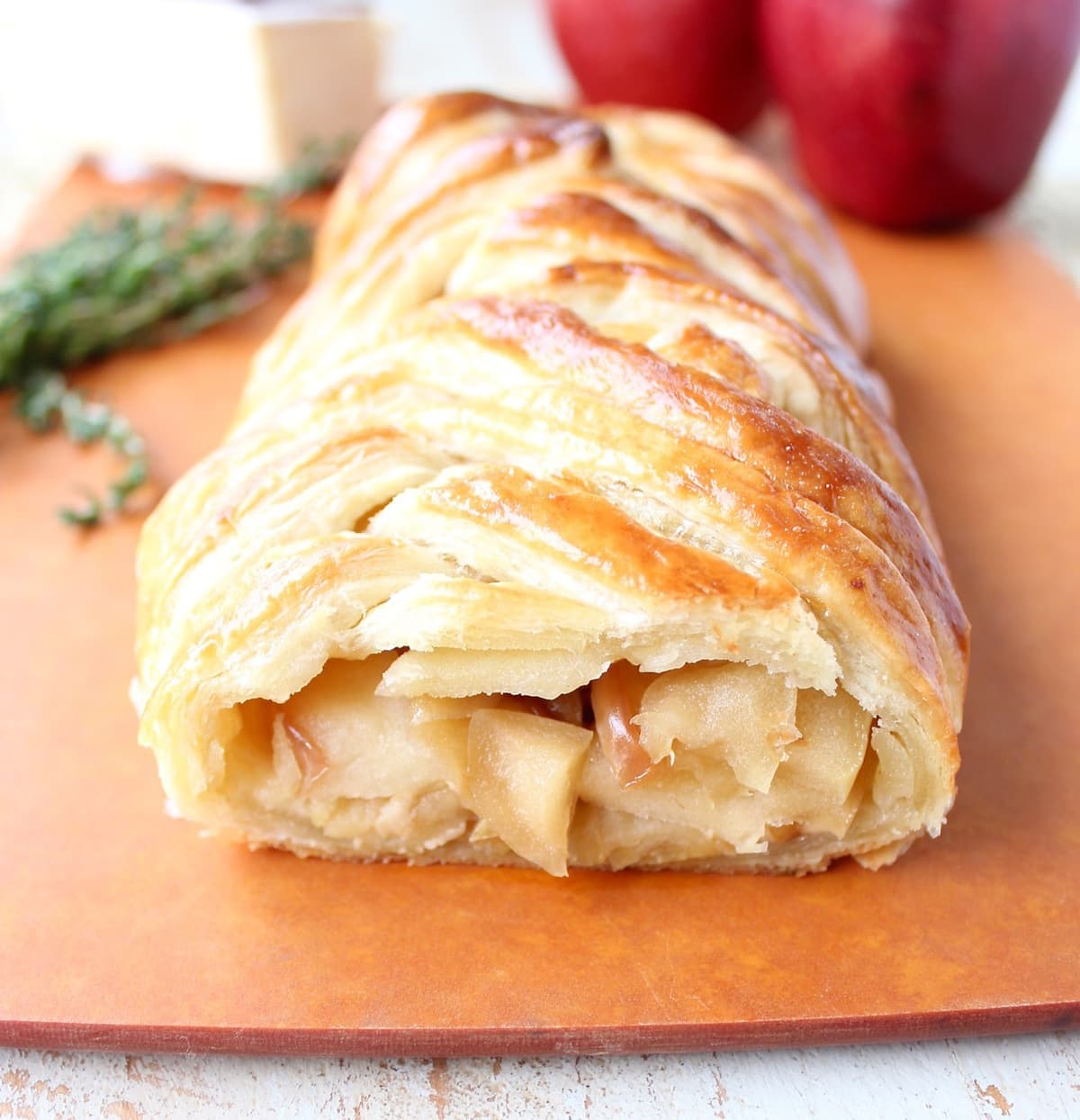 The most delicious apple strudel with puff pastry (step by step recipe with photos) 96