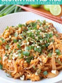 pad thai noodles in bowl