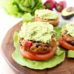 Lettuce Wrapped Veggie Burger