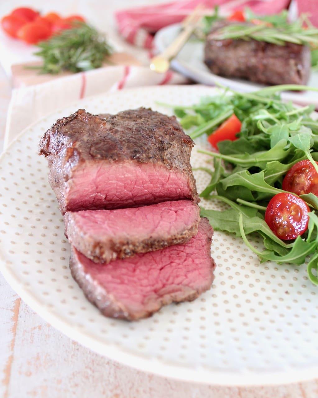 Medium Rare Sous Vide Top Sirloin Steak