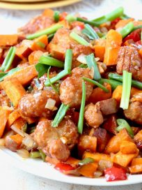 General Tso's Sweet Potato Hash
