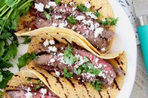 Cajun Steak Tacos with The Best Cajun Marinade