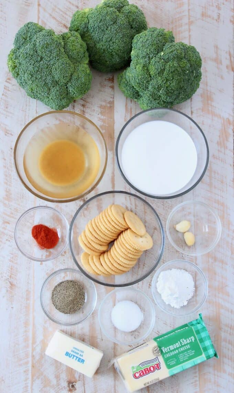 broccoli cheese casserole ingredients
